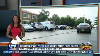 Body found on private beach near Boynton Beach apartment complex - Video