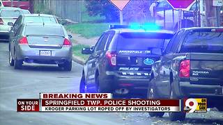 Police seek suspect in officer-involved shooting - Video