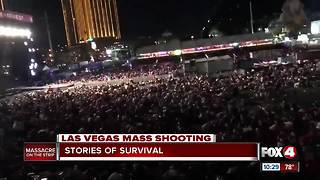 Las Vegas shooting: Stories of survival - Video