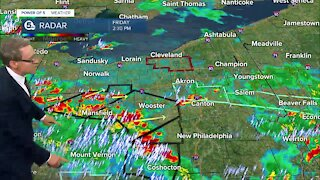 Mark Johnson gives 5PM update on severe weather