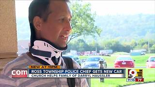 Ross Township police chief gets new car - Video