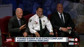 Former sheriff files ethics complaint against Carmine Marceno