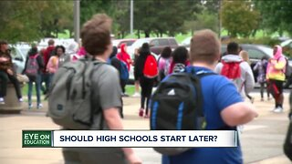 Should start times for high school students change?