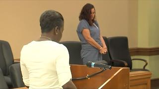Woman charged in crash that killed Officer Christine Braswell doesn't get a reduction in her bond - Video