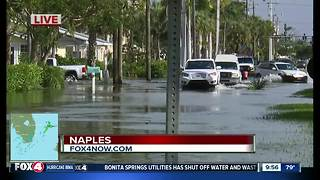 Flooding found in Naples after Hurricane irma - Video
