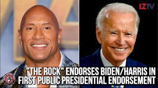 """The Rock"" Endorses Biden/Harris in First Public Presidential Endorsement"