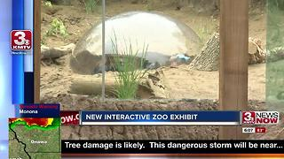 New children's adventure trails unveiled at zoo - Video