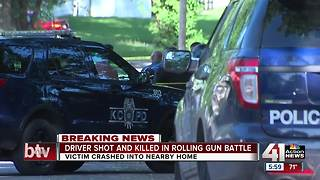 Police: Rolling gun battle leaves 1 person dead in KCMO