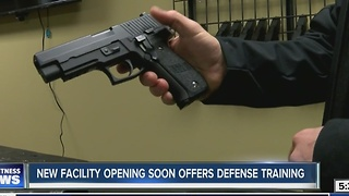 New facility opening soon offers defense training - Video