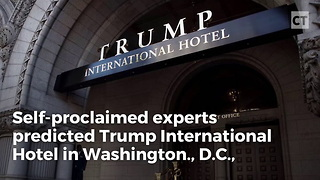 Trump Hotel Beats Expectations - Video