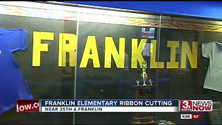 Franklin Elementary families see school updates at ribbon cutting - Video