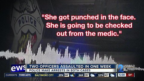 Two officers assaulted in one week