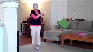 97-Year-Old Granny Crushes The Charleston On Nintendo Wii Video Game