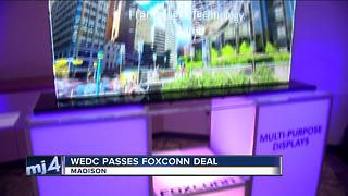 WEDC approves Foxconn contract - Video