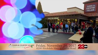 Town and Country Village Tree Lighting - Video