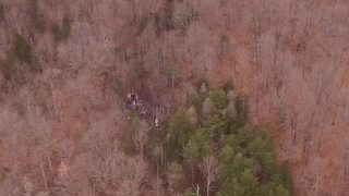 Drone footage shows wreckage from Franklin Co. plane crash - Video