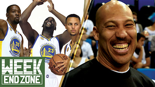 Are the Warriors the Greatest Team EVER If They Win? Has Lavar Ball Crossed the Line? -WeekEnd Zone - Video