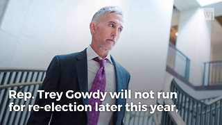 Trey Gowdy Will Not Seek Re-election
