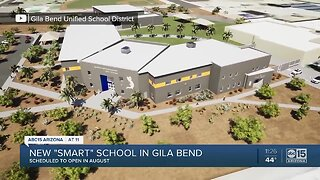 "Gila Bend district breaks ground on ""smart"" school"