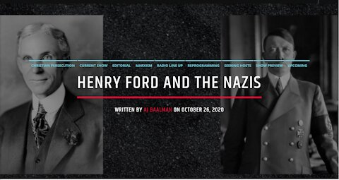 Henry Ford and The Nazis