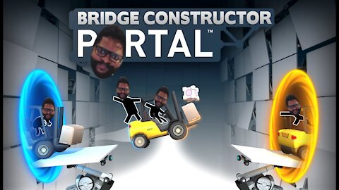 Bridge Constructor Portal: Levels 6 & 7
