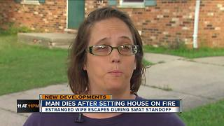 East Price Hill man took wife hostage, set home on fire - Video
