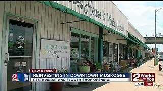 Reinvesting in downtown Muskogee - Video