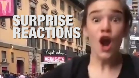 Epic Reactions to Special Surprises
