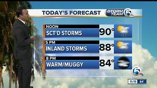 South Florida Friday afternoon forecast (7/7/17) - Video