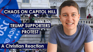 Trump Protestors STORM Capitol Hill Building | MY REACTION | Christian video