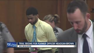 Trial begins for former MPD officer Dominique Heaggan-Brown