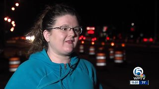 Woman searches for driver who saved her life