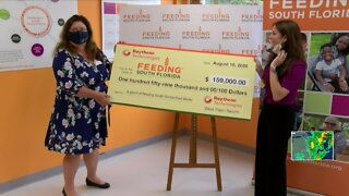 Feeding South Florida receives large donation to continue feeding the hungry