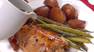 Honey Garlic Chicken - Video