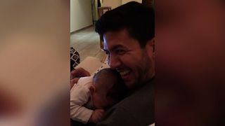 Bashful Baby Can't Handle Compliments - Video