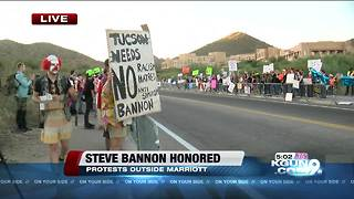 Steve Bannon speaking at Brian Terry Foundation dinner, protesters expected - Video