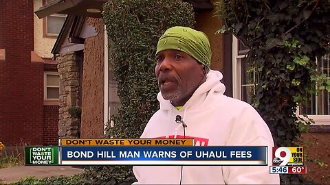 Beware: $19 U-Haul truck costs local man $83