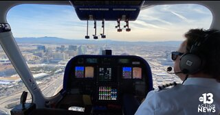 Goodyear Blimp makes its debut at CES