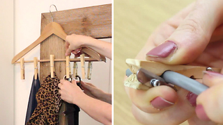Learn these 6 awesome uses for clothespins - Video
