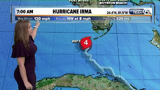 7 a.m. Sunday Hurricane Irma update - Video