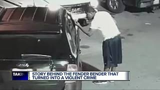 Story behind fender bender that turned into violence