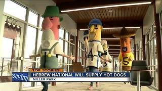 Hewbrew National will supply hot dogs at Miller Park - Video