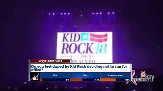 Kid Rock: 'F*** no, I'm not running for Senate' - Video