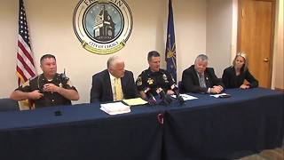 Johnson County announces 63 arrest warrants issued in multiple meth investigations - Video