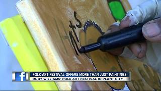 Folk art festival offers more than just paintings - Video