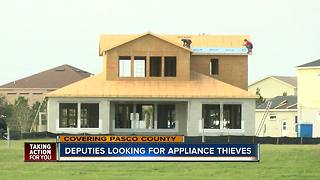 Thieves taking advantage of Pasco County's new construction - Video