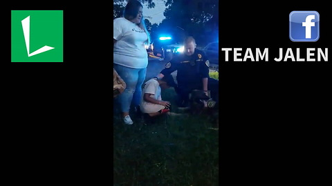 Officer Fights Tears While Praying For 9-year-old Boy Before Brain Surgery