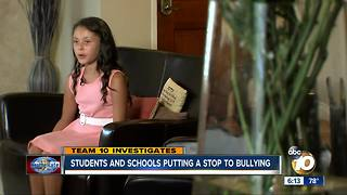 Students and schools putting a stop to bullying - Video