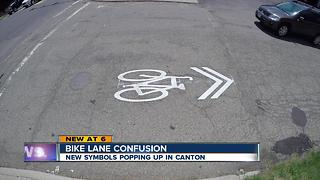 They look like bike lanes, but they're not: What's a sharrow? - Video
