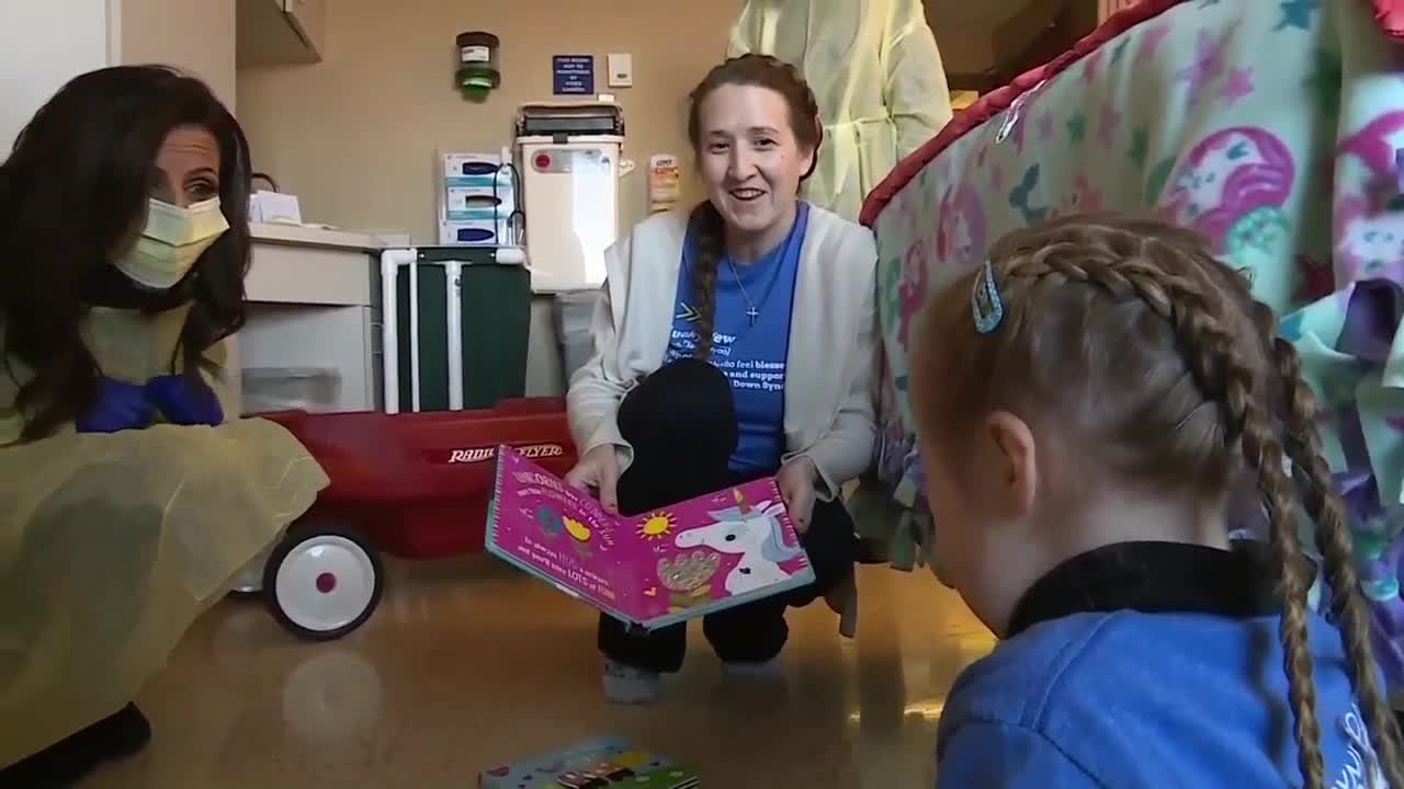 NBC26 Donates hundreds of children's books to local hospital